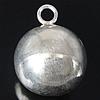 925 Sterling Silber Anhänger, 13.50x13.50mm, Bohrung:ca. 2.5mm, 3PCs/Tasche, verkauft von Tasche