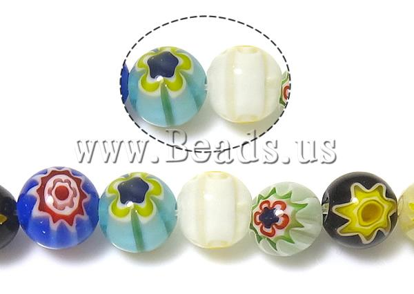 Buy Glass Chevron Beads Round mixed colors 8mm Hole:Approx 1mm Length:Approx 14.5 Inch 10Strands/Lot Sold Lot