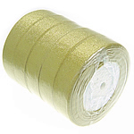 Funkeln Band, grün, 25mm, Länge:500 HofHof, 5PCs/Menge, 100WerftenHof/PC, verkauft von Menge