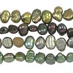 Barock kultivierten Süßwassersee Perlen, Natürliche kultivierte Süßwasserperlen, gemischte Farben, 3-4mm, Bohrung:ca. 0.8mm, Länge:14.5 ZollInch, 10SträngeStrang/Tasche, verkauft von Tasche