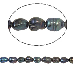 Barock kultivierten Süßwassersee Perlen, Natürliche kultivierte Süßwasserperlen, Grade A, 3-4mm, Bohrung:ca. 0.8mm, verkauft per 14.5 ZollInch Strang