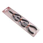Schmuck Zange, Ferronickel, schwarz, 12.5x5cm,single plier size:4.5Inch, 3PCs/setzen, verkauft von setzen