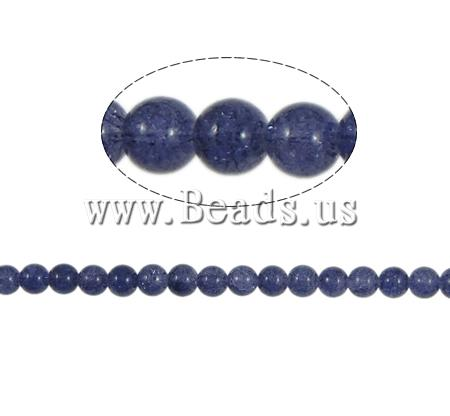 Crackle Glass Beads Round purple 10mm Hole:Approx 2mm Length:Approx 31 Inch 10Strands/Bag Sold Bag