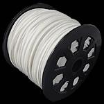 Wollschnur, doppelseitig, weiß, 2.50x1.50mm, Länge:100 HofHof, verkauft von PC