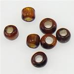 Silbereinzug Glas Rocailles, Glas-Rocailles, Rondell, Kaffeefarbe, 2x1.90mm, Bohrung:ca. 1mm, verkauft von Tasche