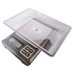 Digitale Taschenwaage , Edelstahl, mit ABS Kunststoff, Rechteck, 180x118x20mm, verkauft von PC