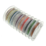Copper Wire Brass with plastic spool mixed colors nickel lead & cadmium free 0.30mm  Sold By Lot