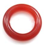 Roter Achat Anhänger, Kreisring, 17x17mm, 20PCs/Tasche, verkauft von Tasche