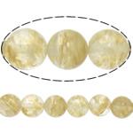 Kaffee Stein Perlen, rund, natürlich, 6mm, Bohrung:ca. 0.8mm, Länge:ca. 15 ZollInch, 20SträngeStrang/Menge, ca. 60PCs/Strang, verkauft von Menge