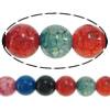 Natürliche Drachen Venen Achat Perlen, Drachenvenen Achat, rund, 6mm, Bohrung:ca. 1.5mm, Länge:15 ZollInch, 20SträngeStrang/Menge, verkauft von Menge