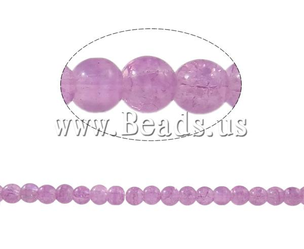 Buy Crackle Glass Beads Round light purple 6mm Hole:Approx 1mm Length:Approx 31.4 Inch 10Strands/Bag Sold Bag