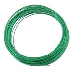 Aluminium Draht, Elektrophorese, grün, 1mm, Länge:ca. 100 m, 10PCs/Tasche, verkauft von Tasche