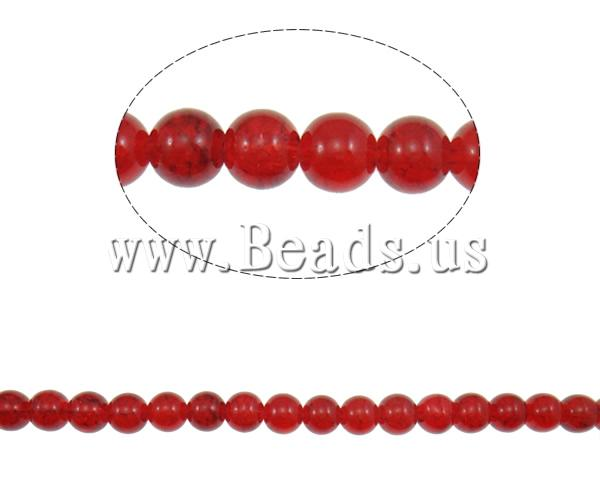 Crackle Glass Beads Round mixed colors 10mm Hole:Approx 1mm Length:Approx 31.5 Inch 10Strands/Bag Sold Bag
