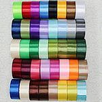 Satinband, gemischte Farben, 40mm, 10PCs/Menge, verkauft von Menge