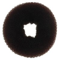 Haarknoten Dutt Dreher, Nylon, Kreisring, braun, 106x46mm, 10PCs/Tasche, verkauft von Tasche