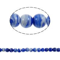 Plattierte Lampwork Perlen, rund, 12mm, Bohrung:ca. 1.5mm, 100PCs/Tasche, verkauft von Tasche