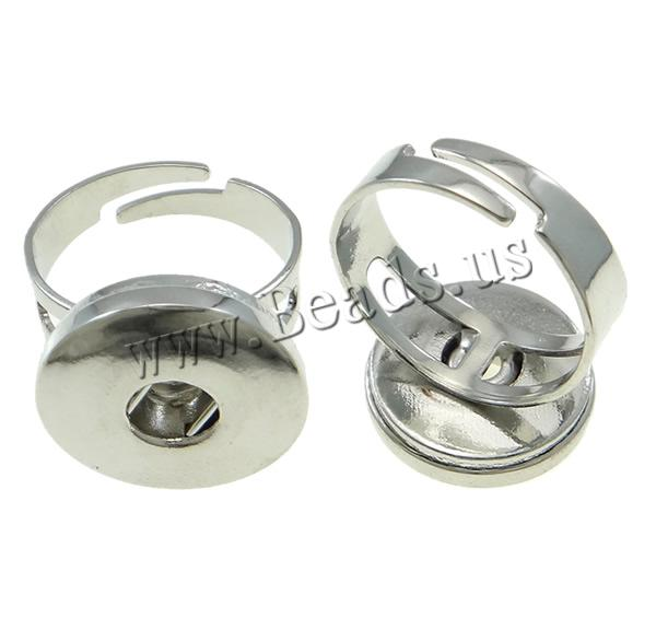 Buy Brass Ring Findings platinum color plated nickel lead & cadmium free 20x25x18mm US Ring Size:11 5PCs/Bag Sold Bag