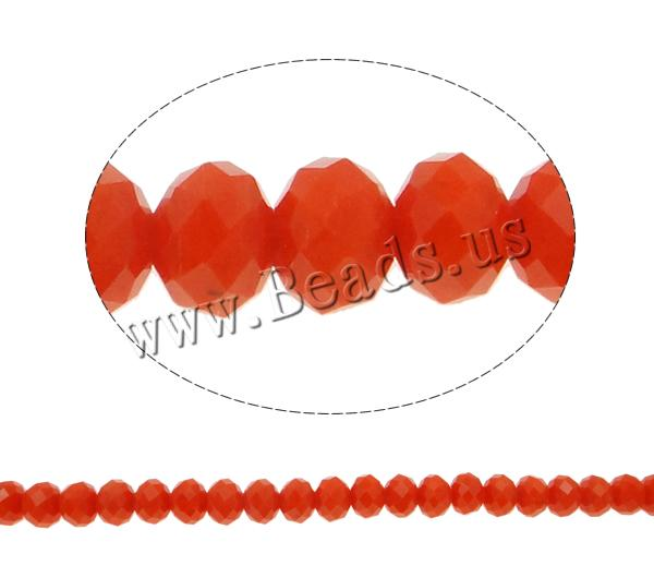 Buy Imitation CRYSTALLIZED™ Element Crystal Beads Rondelle faceted & imitation CRYSTALLIZED™ element crystal Fire Opal 8x6mm Hole:Approx 1mm Length:Approx 17.7 Inch 10Strands/Bag Sold Bag