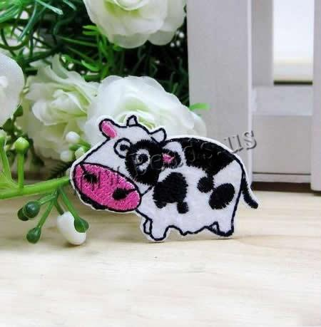 Buy Iron Patches Cloth Cow 48x30mm 5 Sold Lot
