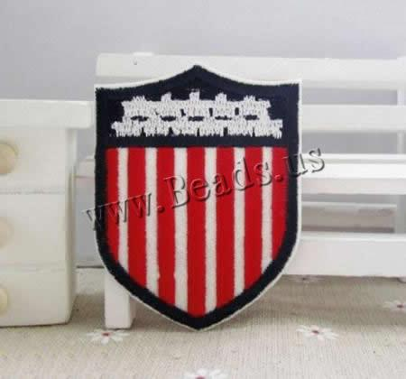 Buy Iron Patches Cloth Shield 50x65mm 3 Sold Lot