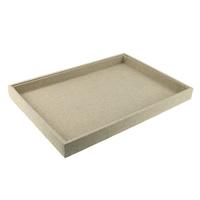 Vitrine, Holz, mit Leinen, Rechteck, 350x240x30mm, 5PCs/Menge, verkauft von Menge