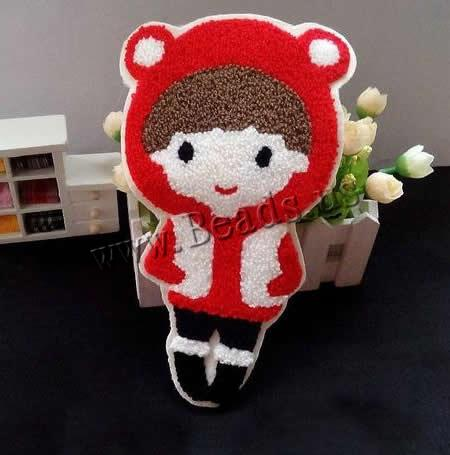 Buy Iron Patches Cloth Plush Girl 135x230mm 1 Sold Lot