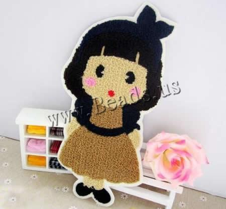 Buy Iron Patches Cloth Plush Girl 135x255mm 1 Sold Lot