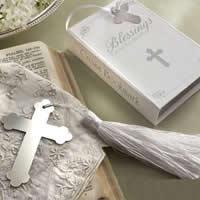 Edelstahl Lesezeichen, mit Nylonschnur, Kreuz, mit Papier-tag, 100x65x25mm, 30PCs/Menge, verkauft von Menge