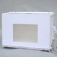 Acryl Minifoto-Studio, mit ABS Kunststoff, Rechteck, verschiedene Größen vorhanden, weiß, 300x215x230mm, verkauft von PC