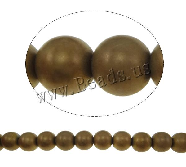 Buy Non Magnetic Hematite Beads Round frosted coffee color 10mm Hole:Approx 2mm Length:Approx 15.7 Inch 10Strands/Lot Approx 47/Strand Sold Lot