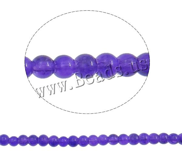 Buy Crackle Glass Beads Round purple 4mm Hole:Approx 1.5mm Length:Approx 31 Inch 10Strands/Bag Sold Bag