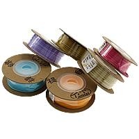 Nylonschnur Nichtelastisches Garn, mit Kunststoffspule & Karton, verschiedene Größen vorhanden, keine, 10PCs/Menge, 13m/PC, verkauft von Menge