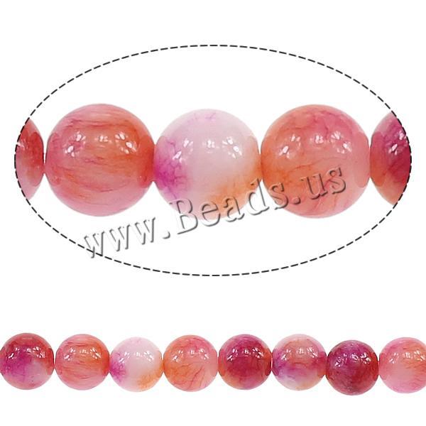 Buy Fashion Glass Beads Round imitation persian jade pink 6mm Hole:Approx 0.8mm Length:Approx 16 Inch 20Strands/Lot Approx 70/Strand Sold Lot
