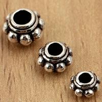 Bali Sterling Silber Perlen, Thailand, Blume, verschiedene Größen vorhanden, verkauft von Tasche