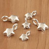 Bali Sterling Silber Anhänger, Thailand, Stern, verschiedene Größen vorhanden, verkauft von Tasche