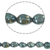 Klasse AA Kristallperlen, Kristall, bunte Farbe plattiert, AA grade crystal, Montana, 13x17mm, Bohrung:ca. 1mm, ca. 40PCs/Strang, verkauft per ca. 15.5 ZollInch Strang