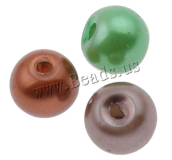 Buy Glass Pearl Beads Round mixed colors 5x6mm Hole:Approx 1.5mm 10Bags/Lot Approx 150/Bag Sold Lot