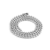 Halskette, Edelstahl, unterschiedliche Länge der Wahl, originale Farbe, frei von Nickel, Blei & Kadmium, 2.40mm, 100SträngeStrang/Menge, verkauft von Menge