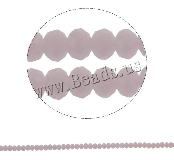 Buy Imitation CRYSTALLIZED™ Element Crystal Beads Rondelle faceted & imitation CRYSTALLIZED™ element crystal Lt Rose 6x4mm Hole:Approx 1mm Length:Approx 17.5 Inch 10Strands/Bag Sold Bag