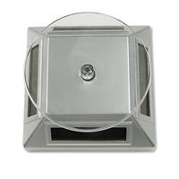 Display-Ständer, organisches Glas, transluzent, weiß, 100x100x50mm, 5PCs/Menge, verkauft von Menge