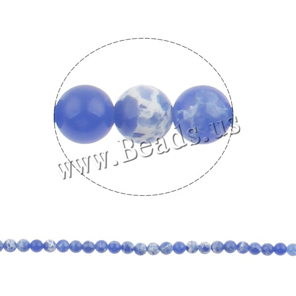 Buy Natural Fire Crackle Agate Beads Fire Agate Round blue 6mm Hole:Approx 1mm Approx 67PCs/Strand Sold Per Approx 15.3 Inch Strand