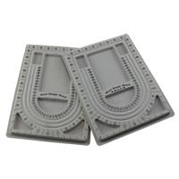 Perlen Zählbrett, Kunststoff, verschiedene Verpackungs Art für Wahl & gemischt, grau, 240x325x15mm, verkauft von Menge