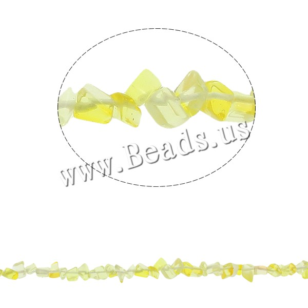 Gemstone Chips Citrine November Birthstone 5-8mm Hole:Approx 0.8mm Approx 260PCs/Strand Sold Per Approx 34.6 Inch Strand