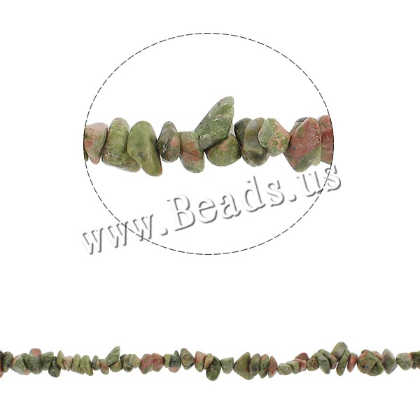 Buy Natural Unakite Beads Nuggets 5-8mm Hole:Approx 0.8mm Approx 260PCs/Strand Sold Per Approx 34.6 Inch Strand