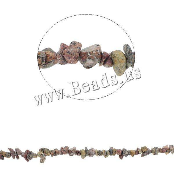 Buy Natural Leopard Skin Stone Bead Chips 5-8mm Hole:Approx 0.8mm Approx 260PCs/Strand Sold Per Approx 34.6 Inch Strand