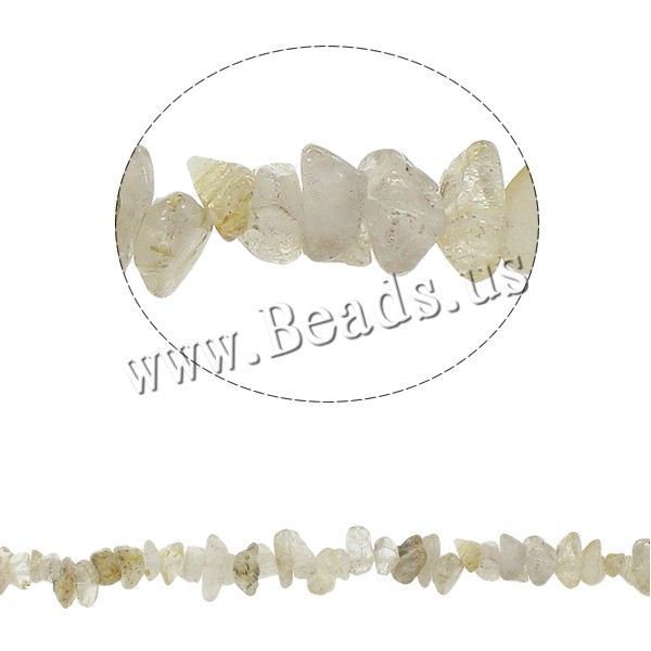 Buy Gemstone Chips Quartz 5-8mm Hole:Approx 0.8mm Approx 10PCs/Strand Sold Per Approx 34.6 Inch Strand