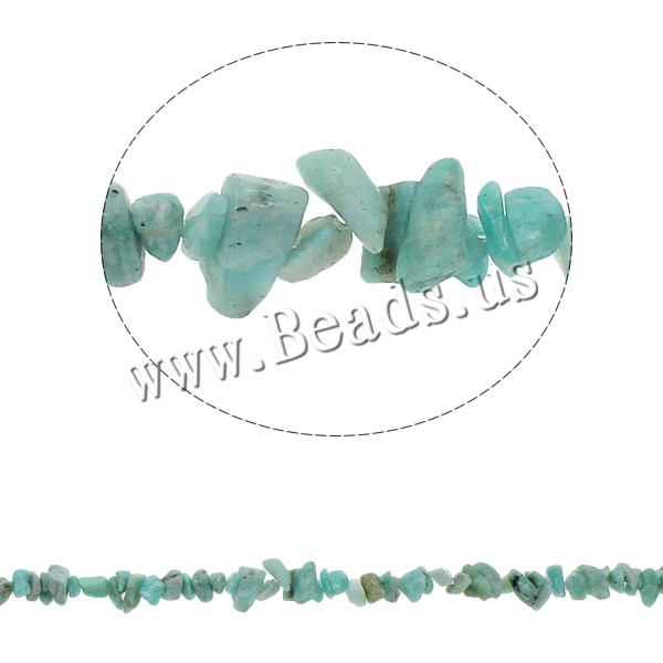 Buy Natural Amazonite Beads Chips 5-8mm Hole:Approx 0.8mm Approx 260PCs/Strand Sold Per Approx 34.6 Inch Strand