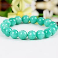 Natürliches Amazonite Bracelets, Amazonit, rund, unterschiedliche Länge der Wahl & verschiedene Größen vorhanden, 6PCs/Menge, verkauft von Menge