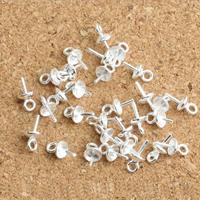 925 Sterling Silber Ringöse, 8x4x0.80mm, Bohrung:ca. 1mm, 100PCs/Menge, verkauft von Menge