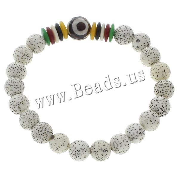 Buy Wrist Mala Xingyue Bodhi Coco & Tibetan Agate Round Buddhist jewelry 10.mm 9mm Length:Approx 7.5 Inch 5Strands/Bag 20PCs/Strand Sold Bag
